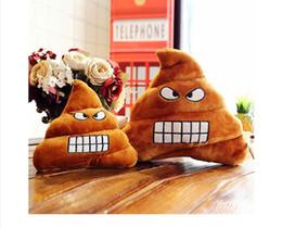 21ac26771676 Emoji Poop Gift Australia - hot Funny Smiley Face Pillow Emoji Cushion  Amusing Poop poo Sofa