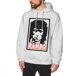 Nice Men Hoodies Australia - Rambo Hoodie RAMBO Hoodies XL Loose Pullover Hoodie Cotton Warm Men Red Nice Long Length Hoodies