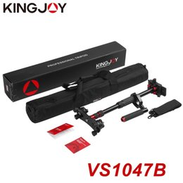 Tripod for camcorders online shopping - KINGJOY Professional Aluminum Alloy Tripod Monopod Handheld Stabilizer Max Load KG for DSLR Camera Camcorder