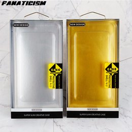 Wholesale Boxes Packaging Australia - Fanaticism 4.7-6.5inch Phone Cases Package PVC Retail Packaging Box For iPhone XR XS Max Samusng S10 S9 S8 Plus Note 9