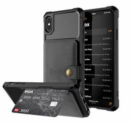 Iphone Wallet Buckle Case Australia - Luxury PU Leather Multi Card Slots Buckle Wallet Case For iPhone XS Max XR X 8 8 Plus 7 7Plus 6 6s Plus