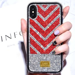 iphone rhinestones phone cases NZ - Phone Case for Iphone 11 11pro 11 Pro Max XR X XS XSMAX 7P 8P 7 8 6P 6SP 6 6S Fashion TPU Back Cover with Rhinestone 3 Styles Wholesale