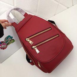 5f6be26cf4ba Designer handbags ladies backpack double zipper retro flip handbag 2019  early spring new luxury brand dinner fashion bag one shoulder makeup