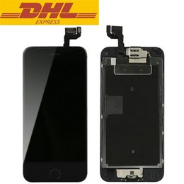 Iphone Display Home Button Australia - For Iphone 6s LCD Digitizer Touch Screen Display With Front Camera Home Button Assembly Completed Screen Repair Parts DHL Freeshipping