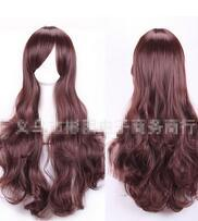$enCountryForm.capitalKeyWord Australia - New Europe and the United States long wavy wig temperament COS wholesale Vogue Lady Girls Cosplay Peluca Products