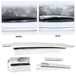 $enCountryForm.capitalKeyWord UK - 1Set Durable Car Chrome Rear Window Rain Wiper Blade Cover Trim for Kia Sportage KX5 QL 2015 2016 2017 2018 Car Accessories New