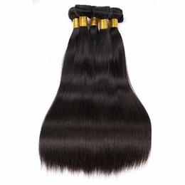 Cheap human hair dhl online shopping - Hot Brazilian Virgin Hair Bundles Straight Human Hair Weaves straight g Cheap Brazilian Human Hair Weaves Extension DHL