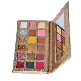$enCountryForm.capitalKeyWord Australia - High Pigment Cosmetics Private Cosmetic Makeup Eye Shadow 18 Color Eyeshadow Palette OEM  ODM shimmer Matte eyeshadow