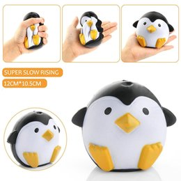 soft ball toys for babies Australia - Ball Squeeze Toy Kawaii Jumbo Squishy Penguin Anti Stress Slow Rising Soft Animals Juetes Novelty Funny Gadget for baby Children Party Event