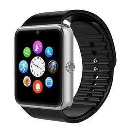 $enCountryForm.capitalKeyWord NZ - The new GT08 smart watch supports TF card SIM card smart phone watch fitness tracker for Samsung Huawei Xioami.