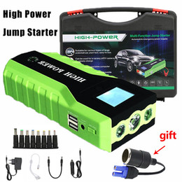 Car Emergency Start Australia - High Power 89800mAh Emergency Car Jump Starter Multifunction Charger Battery Power Bank Pack Buster 12V Starting Device