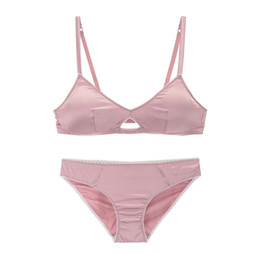 2e807406e Ysandrenne Women Wire Free Lace Bra and Panties Sets S M L XL Sexy Hollow  Out Push Up Bra Women Lingerie