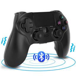 Controller Dual Wireless Australia - For PS4 Bluetooth Wireless Controller For 4 Wireless Dual Vibration Joystick Gamepads PS4