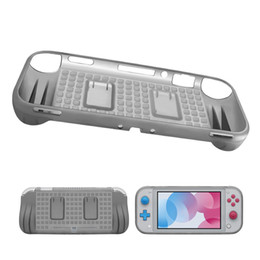 game card box Canada - Soft Silicone Hand Grip Skin Shell Cover For New Nintend Switch Lite Handle Holder Game card TPU Protective With Retail Box