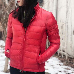 Chinese  Winter Lite Jacket Women Brand Designer Down Jackets Zippers Warm Clothes for Ladies Coat Female Outwear High Quality manufacturers