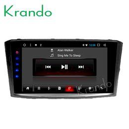 "$enCountryForm.capitalKeyWord Australia - Krando Android 7.1 9"" Big Screen car Multimedia system radio player GPS for Toyota Avensis 2003-2007 stereo navigation BT WiFi car dvd"