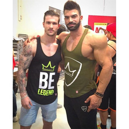 Best Wholesale T Shirts Australia - 2018 New Quickly Dry Mens Running Shirts Compression Tights Gym Tank Top Fitness Sleeveless T-shirts Sport SHM Best Running Vest