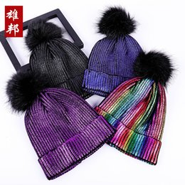 3e04a361a Shop Rainbow Knitted Hat UK | Rainbow Knitted Hat free delivery to ...
