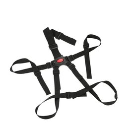 Point Harnesses Australia - 5 Point Universal Black Harness Baby Safety Seat Belts for Stroller High Chair Baby Kids Safe Protection Belt Stroller