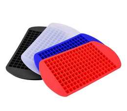 $enCountryForm.capitalKeyWord UK - 160 Ice Tray Ice Cubes Frozen Mini Cube Silicone Mold Maker For Kitchen Bar Party Drinks Mould Tray Pudding Tool