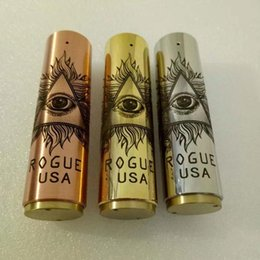 Cigarettes Usa Wholesale NZ - Best selling ROGUE USA MOD Clone Mechanical Electronic Cigarette VAPE Many Styles Beautiful Color Exquisite Pattern 24mm