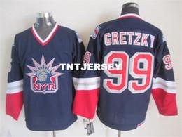 $enCountryForm.capitalKeyWord Australia - 99 WAYNE GRETZKY NEW YORK Lady Liberty MEN'S Hockey Jersey Embroidery Stitched any number and name