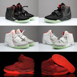 $enCountryForm.capitalKeyWord Australia - Kanye West 2 II SP Red October Sports Kids Basketball Shoes With Packages With Dust Bag Mens Sneakers Glow Dark Octobers Athletic Trainers