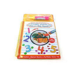 painting write board Australia - Reusable Magic Water Painting Book Cartoon Writing Doodle Children Early Educational Toy Book Coloring Board