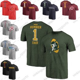 online store 3ee9e fa064 2019 Fathers Day Seattle Pro Line Seahawks Greatest Buccaneers Number 1 DAD  Titans T-Shirt Washington Retro Gray Redskins T-Shirt