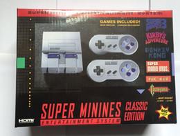 Wholesale top video games for sale – custom Top Quality Super HDMI NES Mini Classic Game Console For NES Classic Retro TV Video Game Console MINI SNES USA version