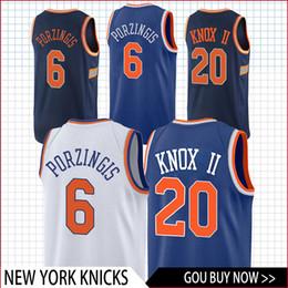 4e08b3a38 KnicKs basKetball online shopping - top Knox Porzingis Knicks jersey  basketball Jersey men fans clothes printed