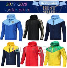 4378dc2b722 Top quality18 19 PSG Real Madrid mbappe Hats soccer windbreaker Milan  Palmeiras Sun Protection Clothing Rome SANE ROBBEN football jacket