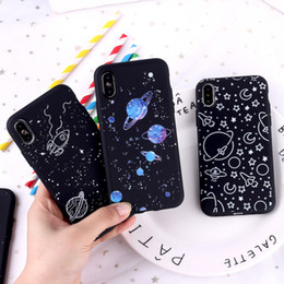 universe case NZ - Dream Starry universe Crashproof Back Cover TPU Cell Phone Cases Protective Covers For iPhone X XR XS MAX 6 6S 7 8 PLUS