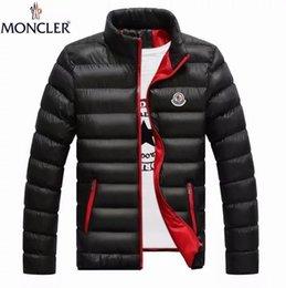 Toptan satış Toptan 2019 Kış Ceket erkek Ultralight Aşağı Coat erkek Beyaz Ördek Aşağı İçerik% 90 Yaka Kış Coat Boyut M-4XL