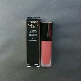 Natural Coloured Lipstick Australia - CoverGirl Lip Makeup France Beauty Brand Rouge Allure Ink Matte Liquid Lipstick Lip Colour 6mL - 154
