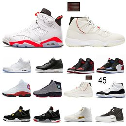 Wholesale Concord XI s Tattoo s s s s s s Gym Red Chicago Platinum Tint Space Jams Men Basketball Shoes Sports Sneakers