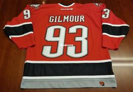 50a73ea995a Cheap Doug Gilmour Vintage Buffalo Sabres Koho Cheap Hockey Jersey Red  Swords Mens Retro Jerseys
