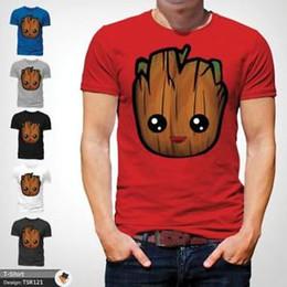 $enCountryForm.capitalKeyWord UK - Baby Groot T-Shirt - Guardians Galaxy Vol 2 RoSummeret Cute Mens Gift Top XMAS Red