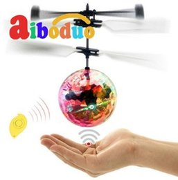 $enCountryForm.capitalKeyWord Australia - Mini Rc Helicopter Drone Plane Flying Ball Flying Toys Ball Shining Led Lighting Quadcopter Dron Helicopter Fly Children Toys.
