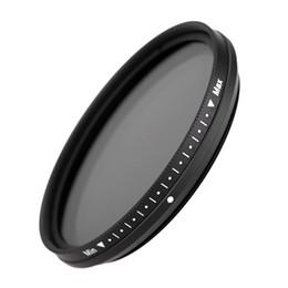 Cameras filter online shopping - lens Fotga mm Slim Fader Variable Adjustable Neutral Density ND2 to ND400 Camera Lens Filter