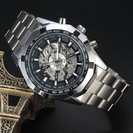 Glasses Trade Australia - Foreign trade explosion models SEWOR genuine watches hollow steel belt men's watch men's mechanical watch automatic mechanical watch
