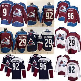 5d638d413 2019 Colorado Avalanche Hockey Jerseys 92 Gabriel Landeskog 29 Nathan  MacKinnon 19 Joe Sakic 96 Mikko Rantanen 9 Matt Duchene Jersey