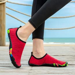 Beach Shoes 47 Australia - 36-47 size Men Beach Shoes Women Outdoor Swimming Shoes Adult Aqua Flat Soft Seaside Non-slip Walking Couple yoga Shoes#4