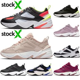 corduroy shoes men Canada - Top Zoom 2K Running Shoes M2k Tekno Mens Women Corduroy Pack Twill Denim Black White Plum Chalk Foam Men Trainers Sports Sneakers 36-45