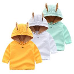 $enCountryForm.capitalKeyWord Australia - Infant Toddler Baby Winter Sweatshirt Boys Girls Cartoon Rabbit Ears Hooded Tops Sweatshirt Children Kids Pullover Hoodies Top