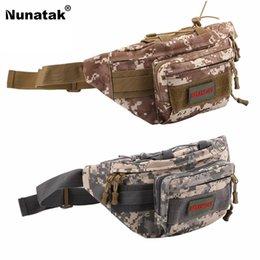 Multi Camera Bags Australia - Nunatak Multi-Purpose Fishing Bag Super Saddle Bag Tactical Shoulder Bust Waterproof Oxford Puff Camouflage Camera #924521