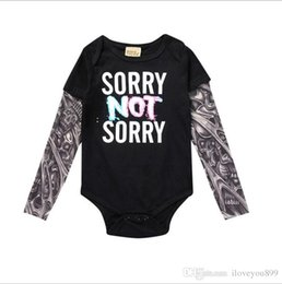 $enCountryForm.capitalKeyWord Australia - Spring and Summer Children's Clothes of 2020 1-3 Years Old Conjoined Suit Baby's Cotton Climbing Clothes Tattoo Hat-jacket