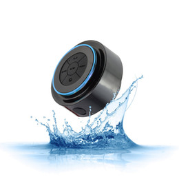 Plastic Readers UK - Waterproof Bluetooth Speaker Portable mini Wireless Shower Handsfree Mic Suction Chuck Speaker Car Speaker MP3 Super Bass Call Receive