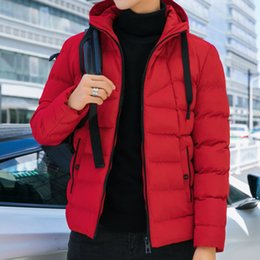 quilted parka men Australia - Port& 2019 Jacket Men Parkas Men Winter Casual Hooded Coats Outerwear Thick Cotton Quilted Male Brand Clothing