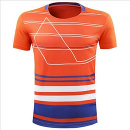 Sportswear T Shirt Badminton Australia - New men and women badminton wear short-sleeved quick-drying training competition suits breathable sportswear T-shirt group clothing group bu